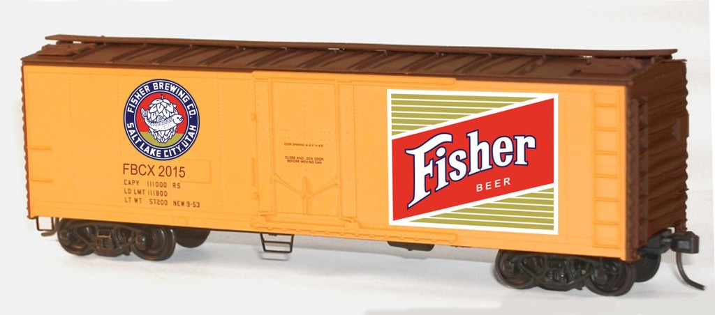 Fisher Beer Car